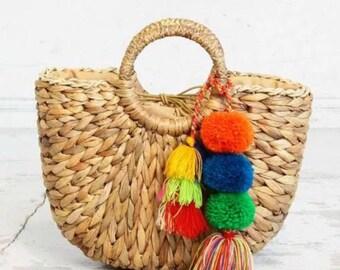 Joy Straw Bag