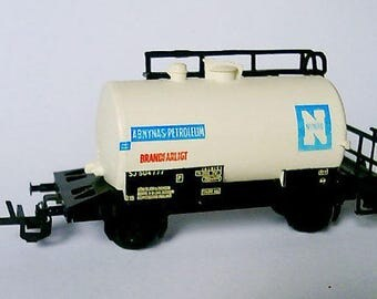 Carriage, of a cistern for a children's railway 9 mm. Train. Toy, art object, artifact, beautiful thing, vintage