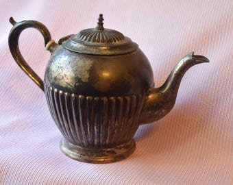 Vintage Teapot Silver Plated R & D 577