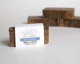 Vanilla Coffee Handcrafted Soap