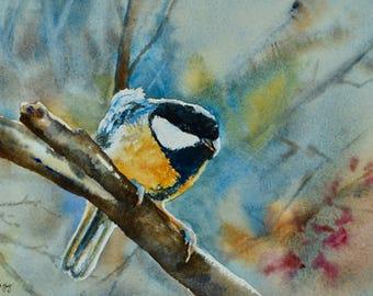 Sing Me A Song, Original Watercolor