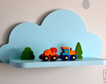 Cloud Wall Shelf, Nursery Room Decor, Cloud Shelves, Kids Room Decor, Baby Shower Gift, Nursery Wall Decor