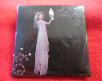 1981 Stevie Nicks Bella Donna Pin Back Button Vintage 80s Fleetwood Mac