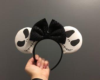 Jack Skellington Themed Ears