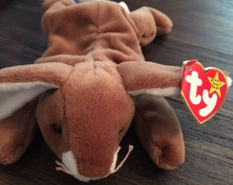 TY Original Collectors item Beanie baby Ears, made in 1995 in mint condition
