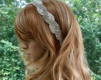 Pearl Hair Jewelry, Pearl Hair Accessory, Swarovski Hair Accessory, Pearl Crystal Headpiece, Pearl Crystal Headband, Pearl Hair Comb