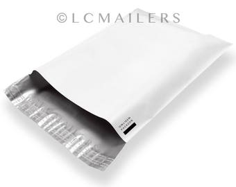100 12x15 Poly Mailers Envelopes Self Sealing Shipping Bags 2.5 Mil PACKZON