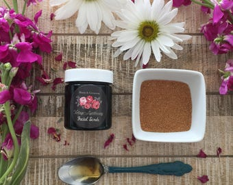 Facial Scrub - Honey &Geranium