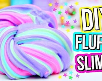 Scented Fluffy Slime