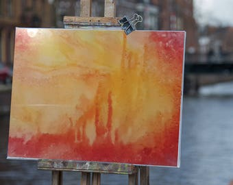 Crimson Hallow - abstract fantasy