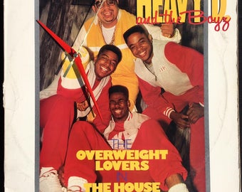 Heavy D and the Boyz OVERWEIGHT LOVERS – Album Cover Wall Clock