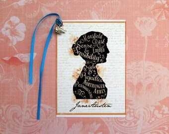 Jane Austen's Works Bookmark