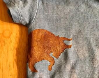 Bull infant onsie