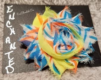 Shabby Flower Hair Clips