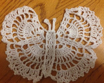 Lace Crochet Butterfly