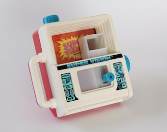 Vintage TOMY SUPER VISION toy, Magic Viewer, 1985, Made in Japan