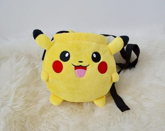 Pikachu climbing chalk bag