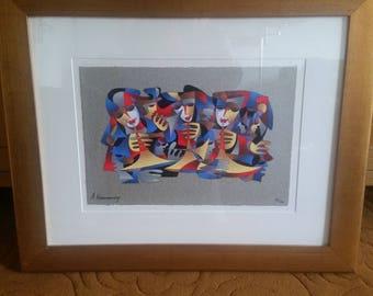Original artwork signed by artist