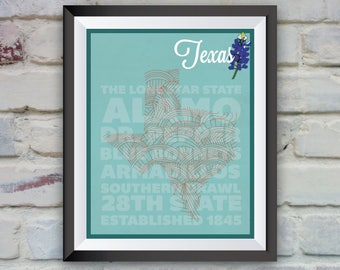 Texas State Poster