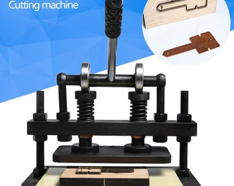 free shipping Hand leather cutting machine,photo paper,PVC/EVA sheet mold cutter,manual leather mold /Die cutting machine