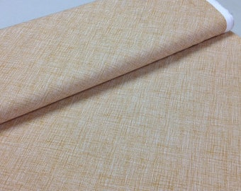 Architextures - CARAMEL, Cotton Fabric, sold by the 1/2 yard, by Carolyn Friedlander for Robert Kaufman, AFR 13503 173, cross hatch, brown