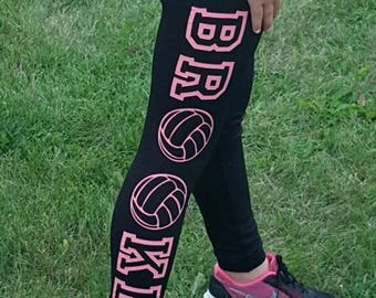 Custom Name Leggings
