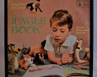 Framed Vintage Album - The Jungle Book - Perfect for a kid's room.