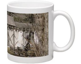 Frozen Water Mill Coffee Mug