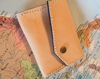 The 'Mountain Range' Leather Coin Purse
