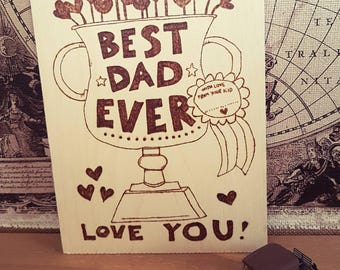 Father gift idea.