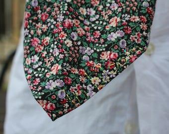 Eye Spy In Bloom Floral Skinny Tie