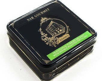Nar Gourmet Traditional Turkish Delight with Double Roasted Pistachio - 200g (200 gram)