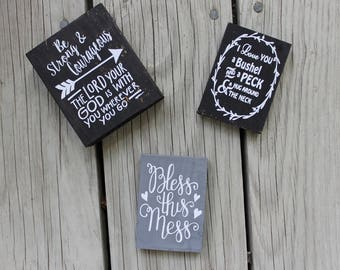 Small Wooden Signs