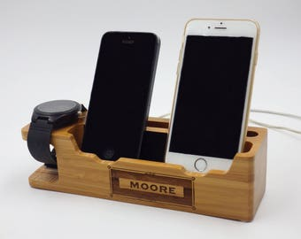 gift from wife,gifts for men,anniversary gifts,iphone dock,docking station,cell phone dock, personalized,gifts for husband,gifts for dad