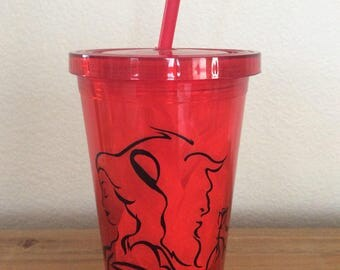Personalized Beauty & The Beast Tumbler