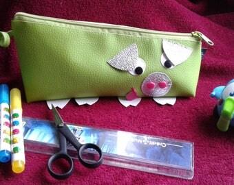 Piggy leatherette case