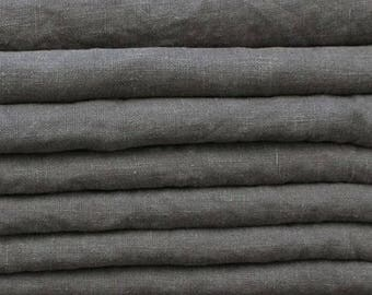 tablecloth grey washed linen 160 x €160 104