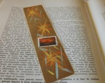 Marque-Pages - signet peint - plastifié - Grand  Modèle - 20,5 cm