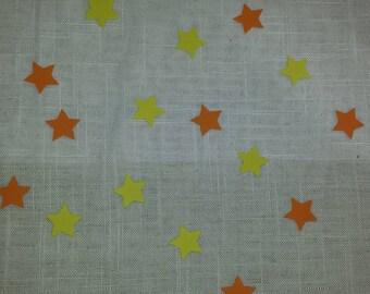 set of 80 star confetti
