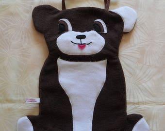 Model dog Pajama bag