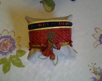 Multi strand Cuff Bracelet