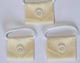 5 x handbag mini applique - 000785