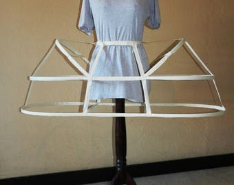 basket crinoline dress Marie Antoinette