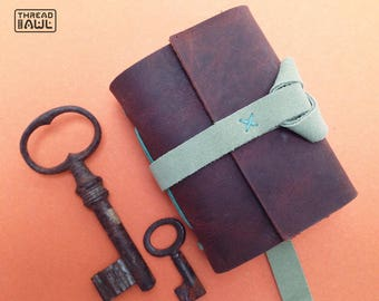 leather notebook, writers journal, leather sketchbook, 3rd anniversary, leather journal, artist sketchbook, writers gift, travel journal
