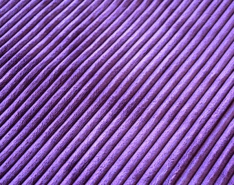 Fabric velvet ribbed purple