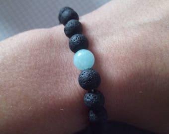 Onyx and quartz