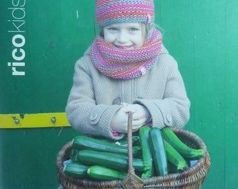 Catalogue tricot RICO KIDS 02 - 21 Modèles hiver pour les enfants de 1 à 12 ans