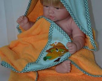 Hooded towel or bath
