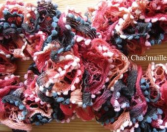 fancy scarf tassels warm tones