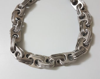 Recycled Soda Pop Tab Chain Necklace